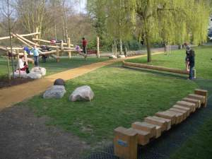an example of a playground toured in London last fall.