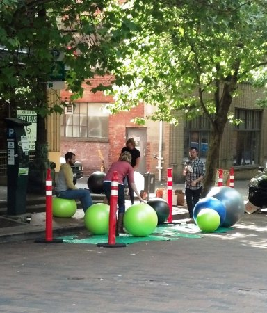 Parking Day, Pioneer Square Seattle