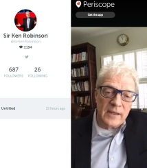 Screengrab of Sir Ken Robinson