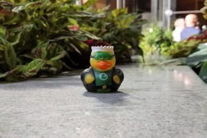 green lantern duckie hero toy