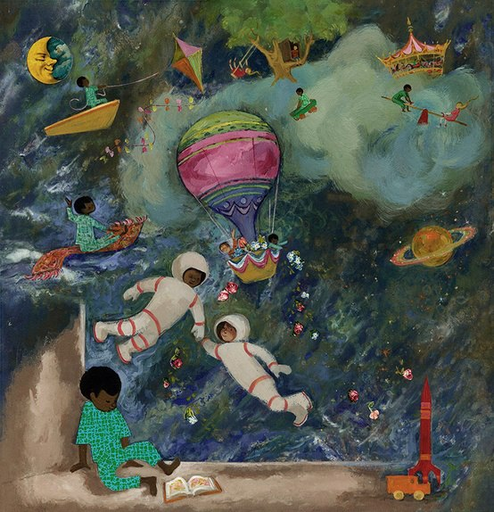 Illustration by Ezra Jack Keats via Every Child A reader